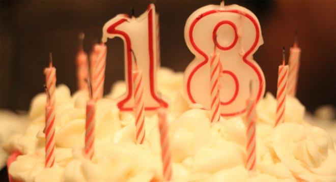 Mensagem De Aniversário De 18 Anos Mensagem De Aniversário