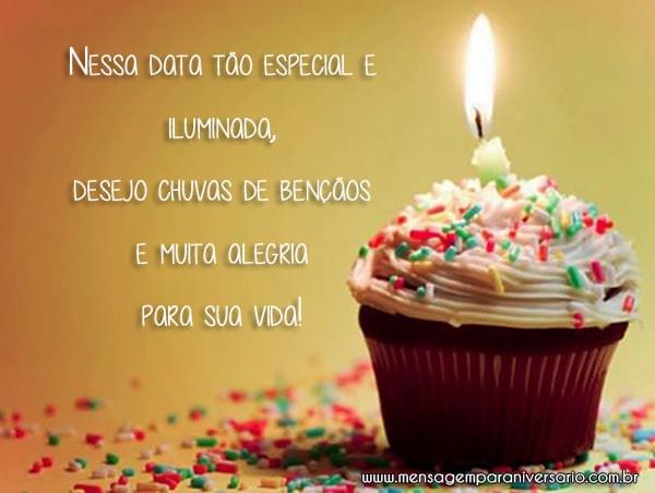 Muitas Felicidades no seu Aniversário