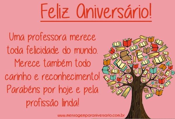 Parabéns Pelo Seu Aniversário Irmã Querida Felicidades: Mensagens De Aniversário Para Professora