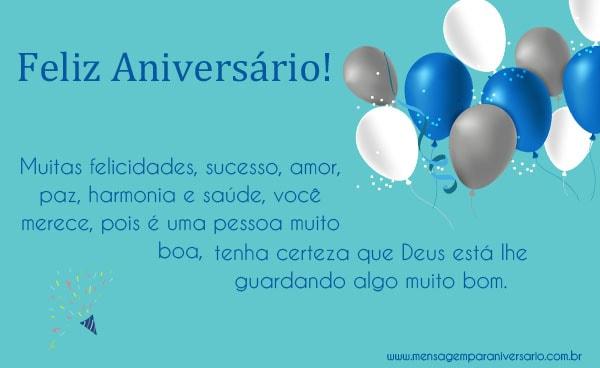 Feliz Aniversário Colega