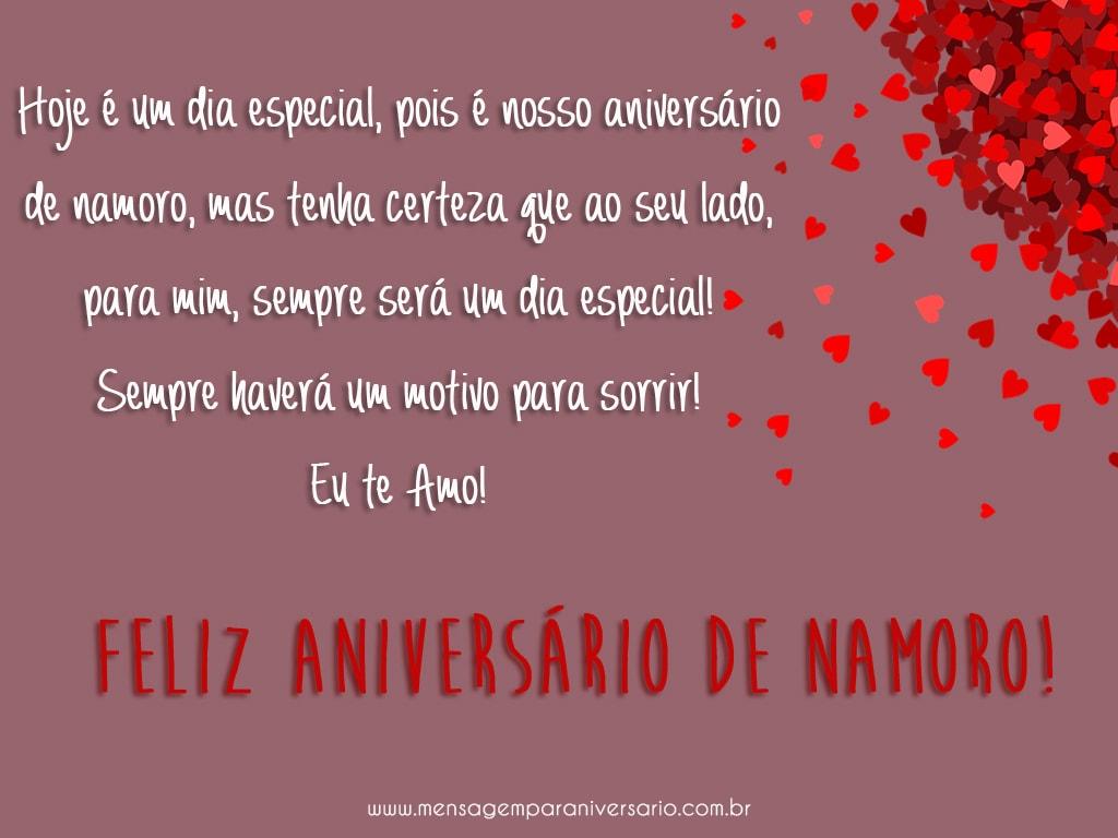 Aniversário de Namoro!